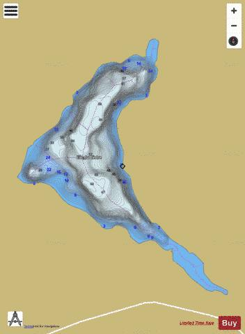 Cedre Lac Du Fishing Map - i-Boating App