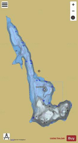 GUENARD Fishing Map - i-Boating App