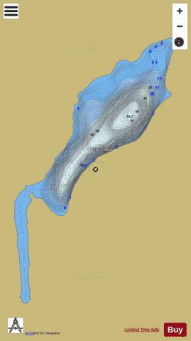 LINDA LAC Fishing Map - i-Boating App