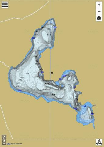 Laval Lac Fishing Map - i-Boating App