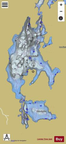 Lac Morialice Fishing Map - i-Boating App