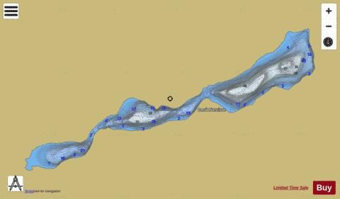 Narcisse Lac A Fishing Map - i-Boating App