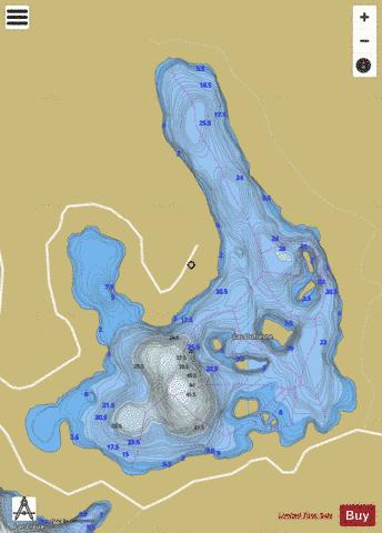 Dufresne, Lac Fishing Map - i-Boating App