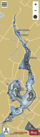 Aylmer, Lac Fishing Map - i-Boating App
