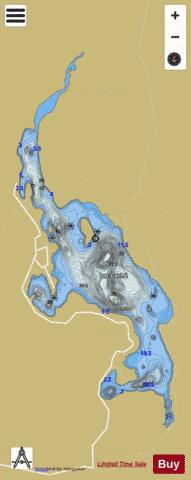Cache, Lac Fishing Map - i-Boating App