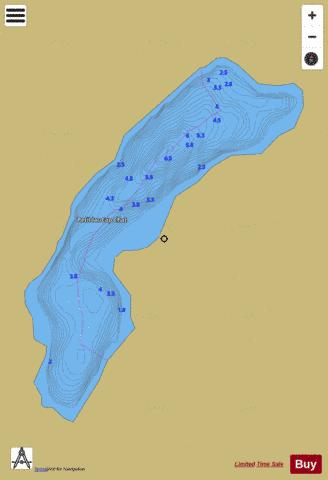 Cap-Chat, Petit lac Fishing Map - i-Boating App