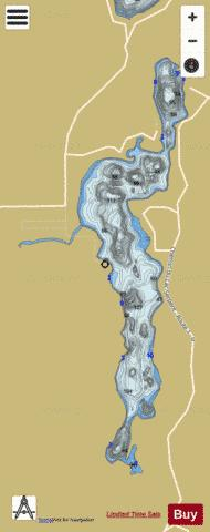Serpent, Lac Fishing Map - i-Boating App