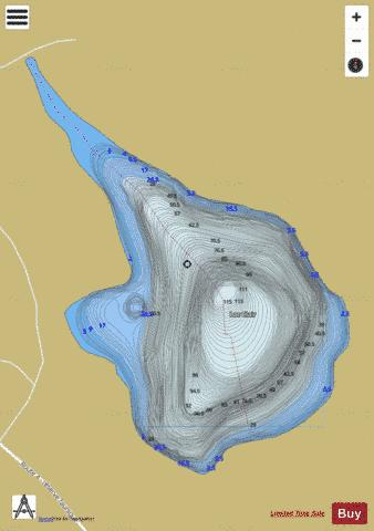 Clair, Lac Fishing Map - i-Boating App