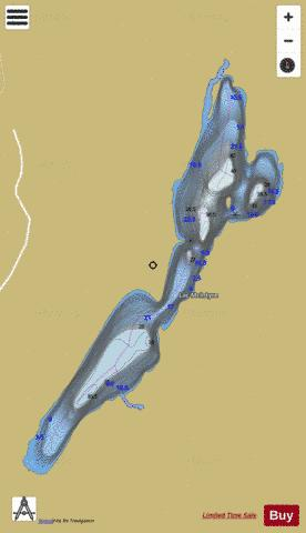 McIntyre, Lac Fishing Map - i-Boating App