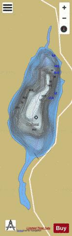 Jouet, Lac Fishing Map - i-Boating App