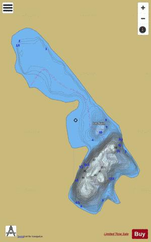 Nain, Lac Fishing Map - i-Boating App