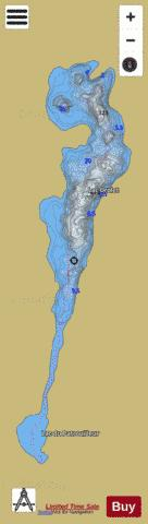 Drolet, Lac Fishing Map - i-Boating App