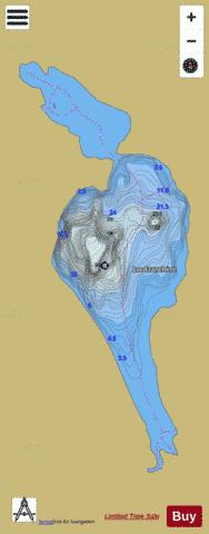 Franchere, Lac Fishing Map - i-Boating App