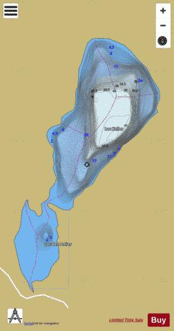 Keller, Lac Fishing Map - i-Boating App