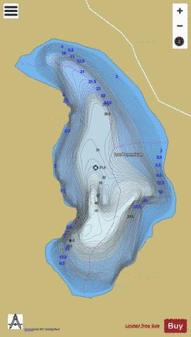 Pemmican, Lac Fishing Map - i-Boating App