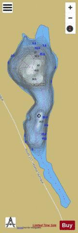 Ibis, Lac des Fishing Map - i-Boating App