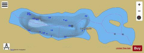 Cypres, Lac du Fishing Map - i-Boating App