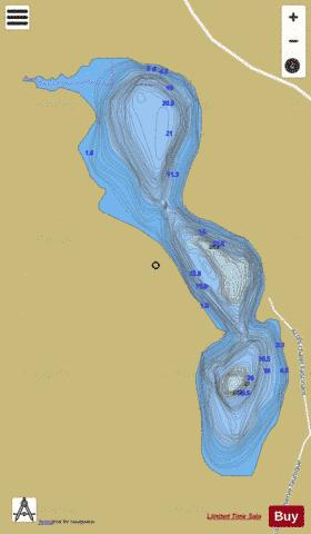 Fascinant, Lac Fishing Map - i-Boating App