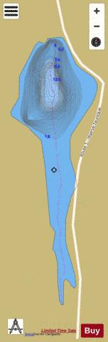 Rapiere, Lac Fishing Map - i-Boating App