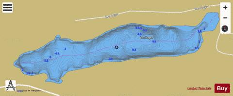 Grace, Lac Fishing Map - i-Boating App
