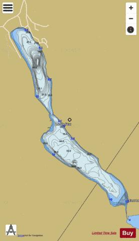 Est, Lac de l' Fishing Map - i-Boating App