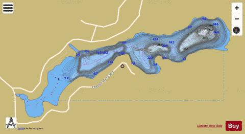 Poisson, Lac Fishing Map - i-Boating App