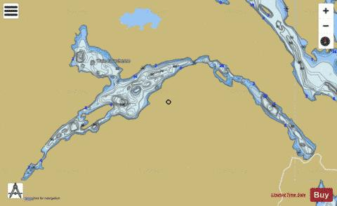 Pommeroy, Lac Fishing Map - i-Boating App