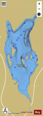 Saint-Damase, Lac de Fishing Map - i-Boating App