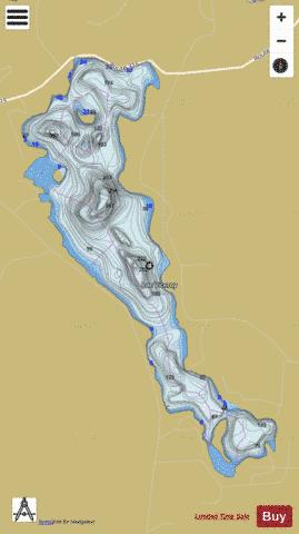Viceroy, Lac Fishing Map - i-Boating App