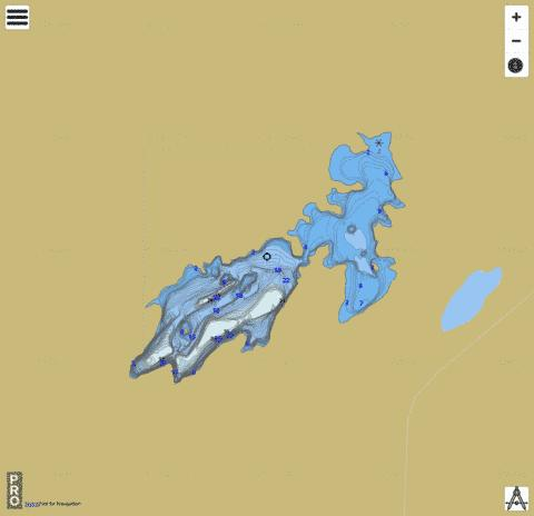 Torwalt Lake Fishing Map - i-Boating App