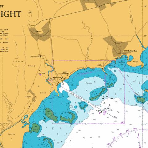 A  Port Esquivel Marine Chart - Nautical Charts App