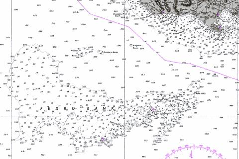 Pedro Bank to the South Coast of Jamaica Marine Chart - Nautical Charts App