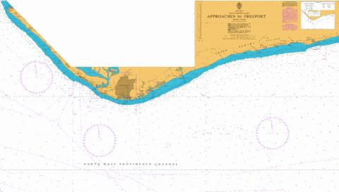 Approaches to Freeport Marine Chart - Nautical Charts App