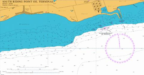 South Riding Point Oil Terminal Marine Chart - Nautical Charts App