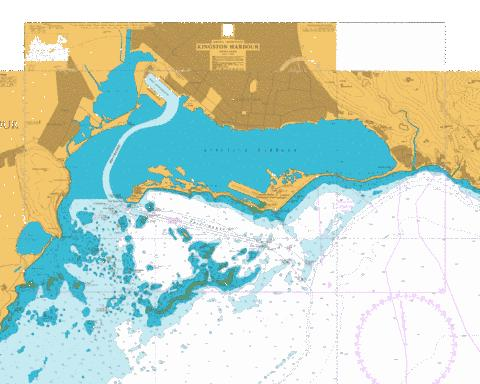 Kingston Harbour Marine Chart - Nautical Charts App