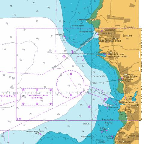 A  Lisas Point to Pointe-A-Pierre Marine Chart - Nautical Charts App