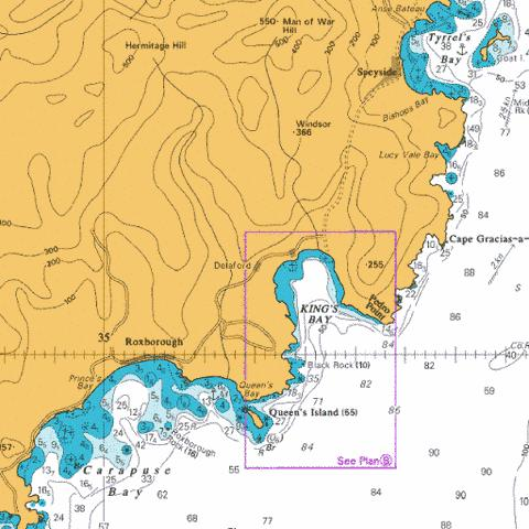 B  Kings Bay Marine Chart - Nautical Charts App