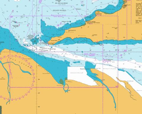 Serpent's Mouth Marine Chart - Nautical Charts App