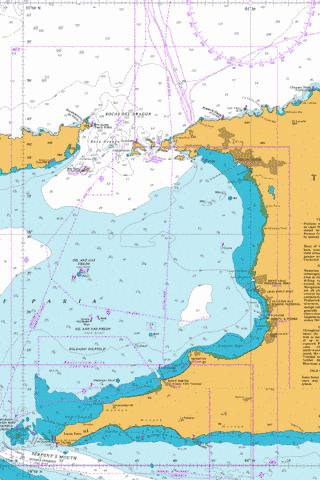 Gulf Of Paria Marine Chart - Nautical Charts App