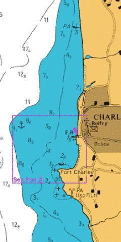 A  Charlestown Marine Chart - Nautical Charts App