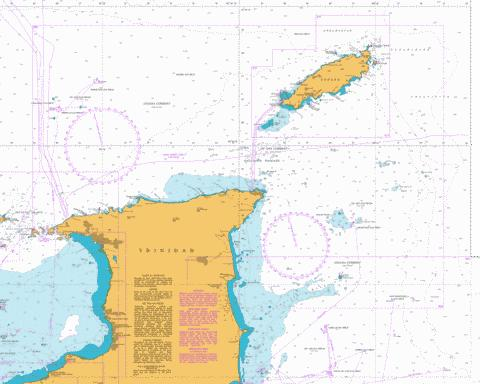 North East Approaches to Trinidad Marine Chart - Nautical Charts App