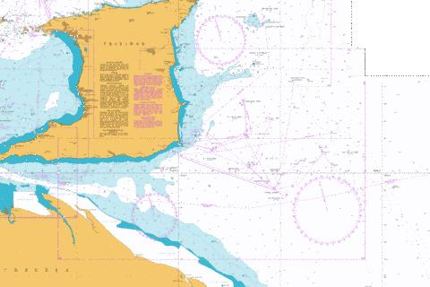 South East Approaches to Trinidad Marine Chart - Nautical Charts App