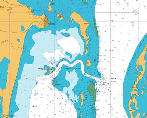 Belize City and Approaches Marine Chart - Nautical Charts App