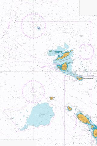 Sombrero Island to Saint Christopher (Saint Kitts) Marine Chart - Nautical Charts App