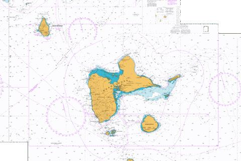 Approaches to Guadeloupe Marine Chart - Nautical Charts App