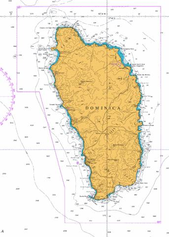 Dominica Marine Chart - Nautical Charts App
