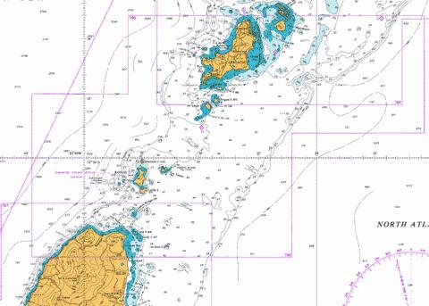 Carriacou To Grenada Marine Chart Cb Gb 0795 1