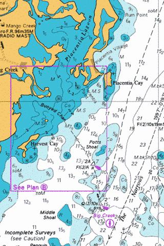 B  Big Creek and Approaches Marine Chart - Nautical Charts App