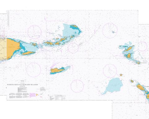 Puerto Rico to Leeward Islands Marine Chart - Nautical Charts App