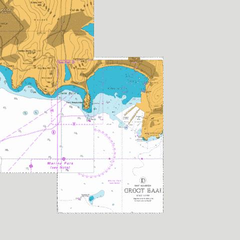 D  Groot Baai Marine Chart - Nautical Charts App